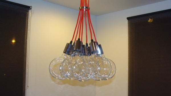 How to Save 11,644.07 on a Designer Lighting Fixture!