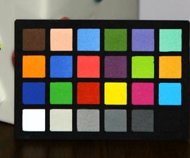 DIY Color Checker