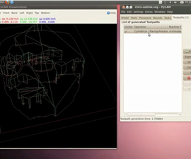 Open Source CNC Toolpathing Workflow