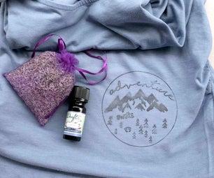 Lavender Oil Printed Shirt