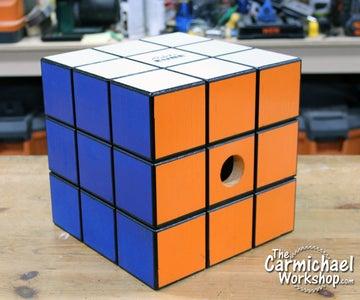Rubik's Cube Birdhouse