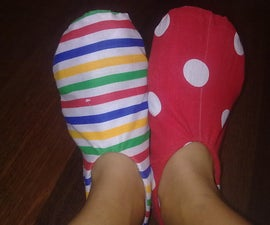 Reversible Soft Slipper Shoes