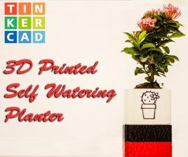 3D Printed Self Watering Planter