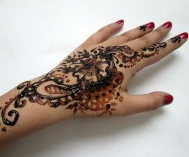 Henna Tattoo Tutorial