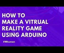 Bounce Back ! Virtual Reality Game Using Arduino & Acclerometer