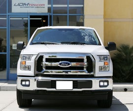 Install Ford F-150 80W High Power CREE LED Foglamp