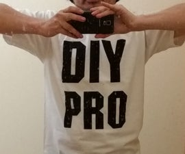 How to Screen Print a  T-shirt on a Budget DIY