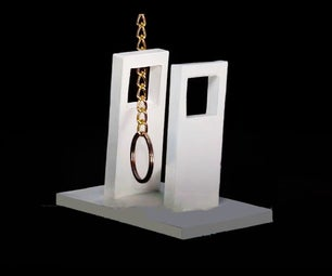 RING PASSING THROUGH VERTICAL BARS-PUZZLE