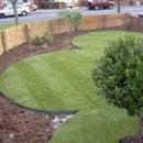 Garden, Flower Bed or Grass Tire Border