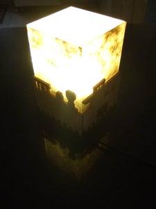 Train Themed Bedtime LED Reading Light