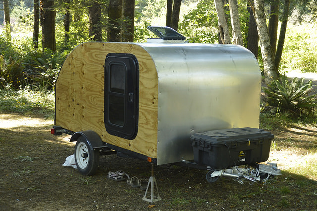 Picture of Build Your Own Teardrop Camping Trailer!