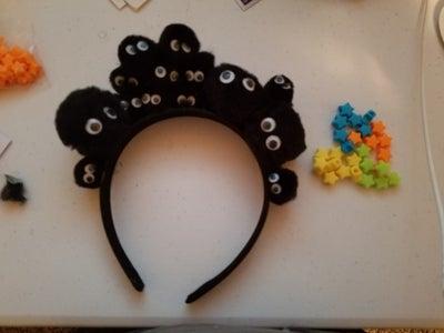 Glue the Balls on Headband