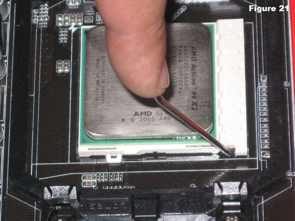 Picture of Install the CPU