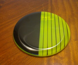 Disc Golf Disc Dyeing Tutorial: cheap DIY golf disc designs using electrical tape