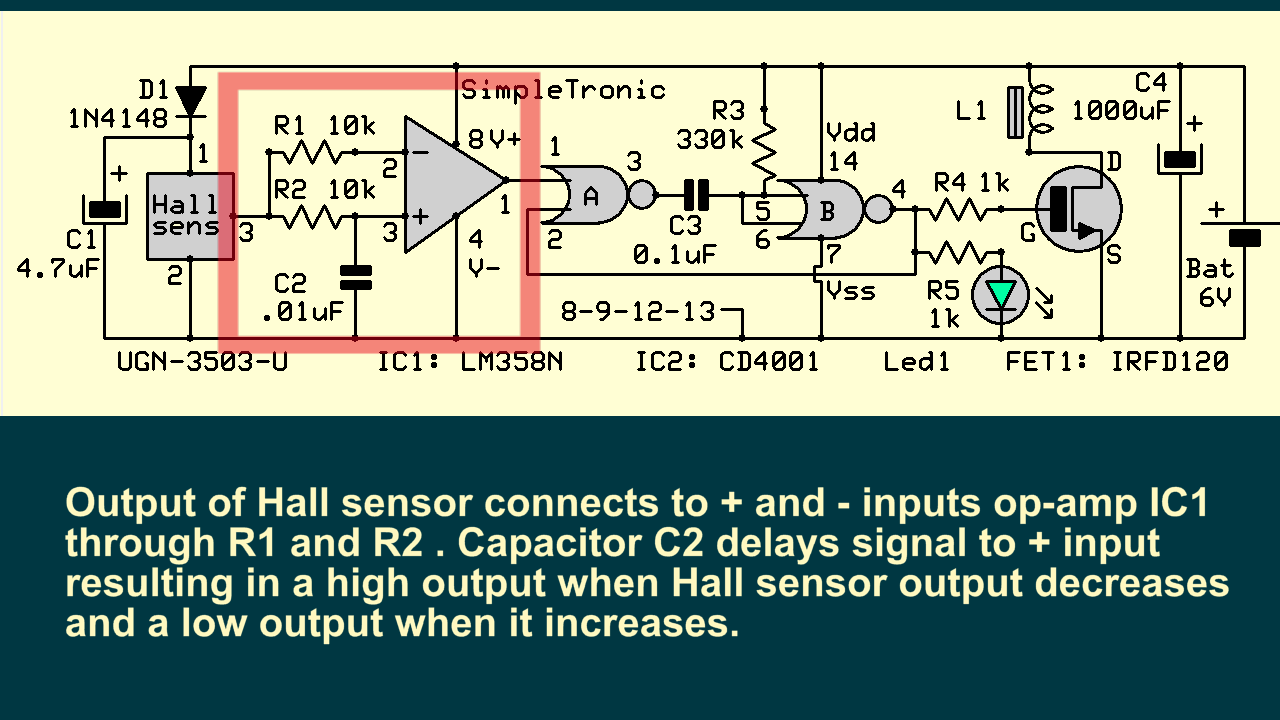 Picture of Direction Detector