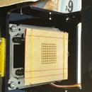 Laser engraver bed grid