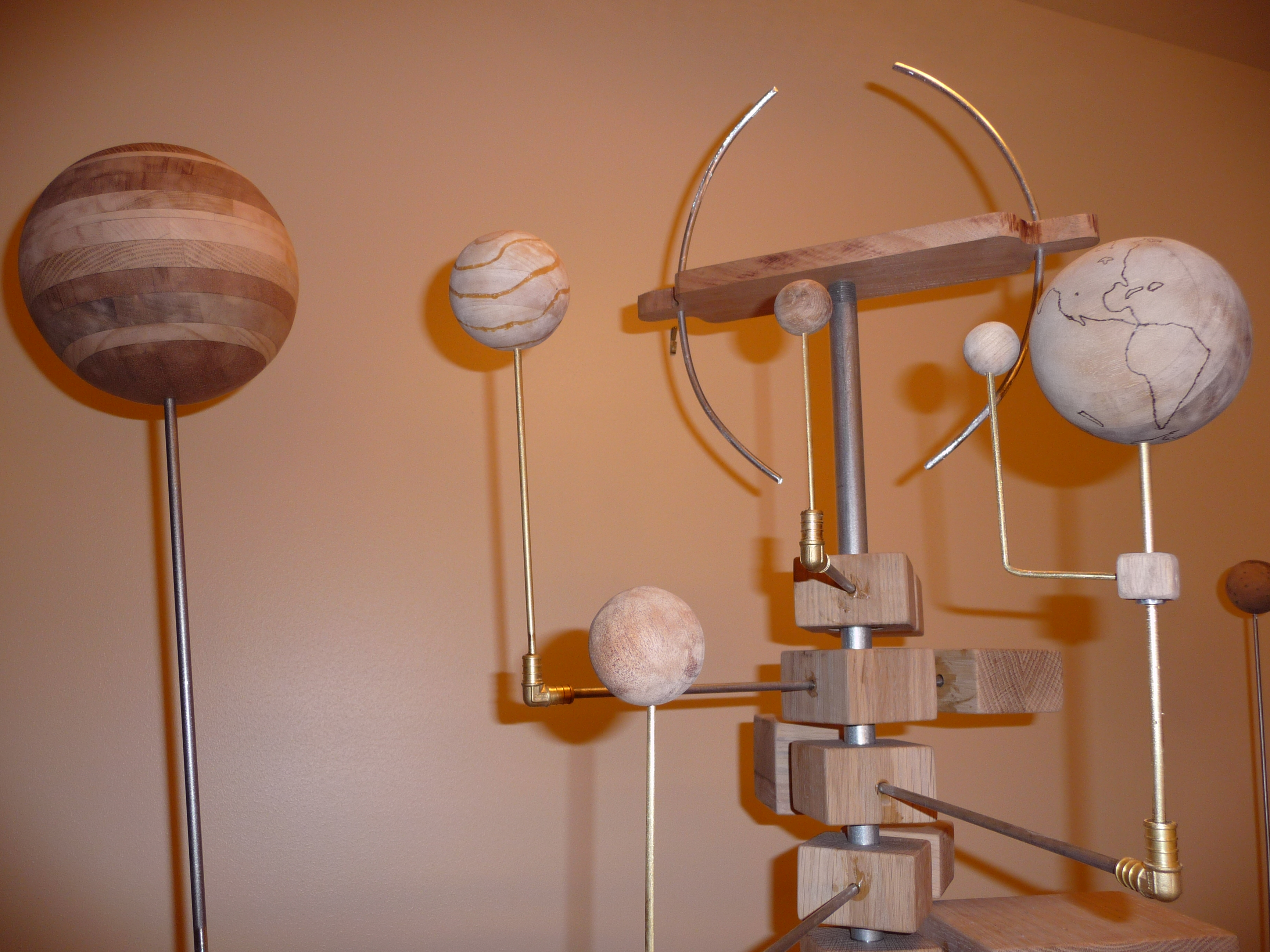 Picture of Grand Wooden Orrery