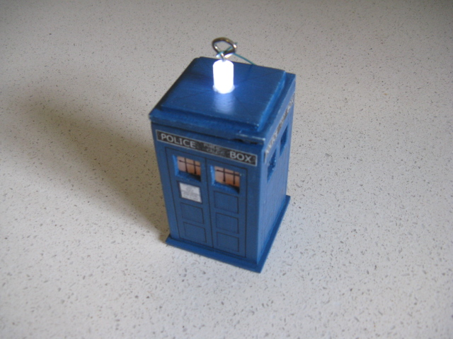 Picture of The Roof and Glue the TARDIS Together