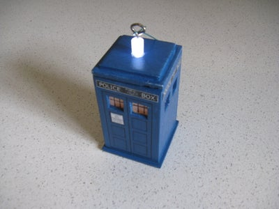 The Roof and Glue the TARDIS Together