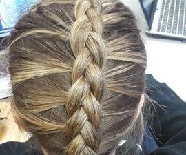 Dutch Braiding Hair