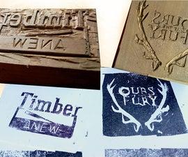 Printing Blocks - My Logo and Baratheon Sigil