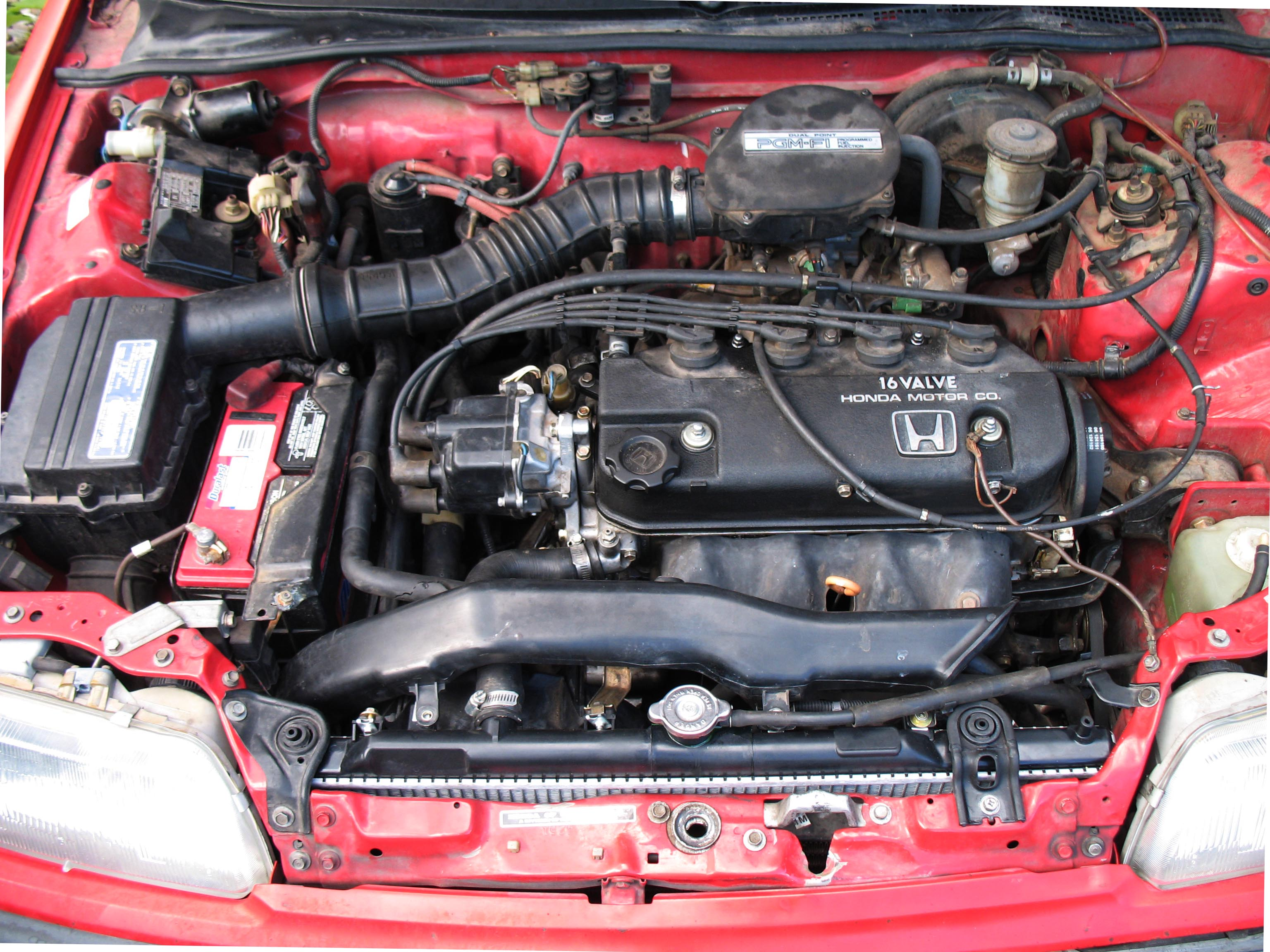 Head Gasket Replacement on '91 Honda Civic : 8 Steps - InstructablesInstructables