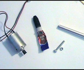 """Quick and easy """"electric linear actuator"""" prototype ..."""