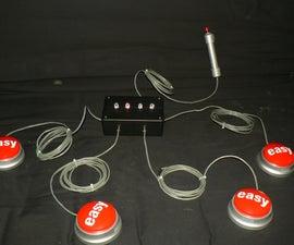 Quiz Show Buzzer System using Staples Easy Button