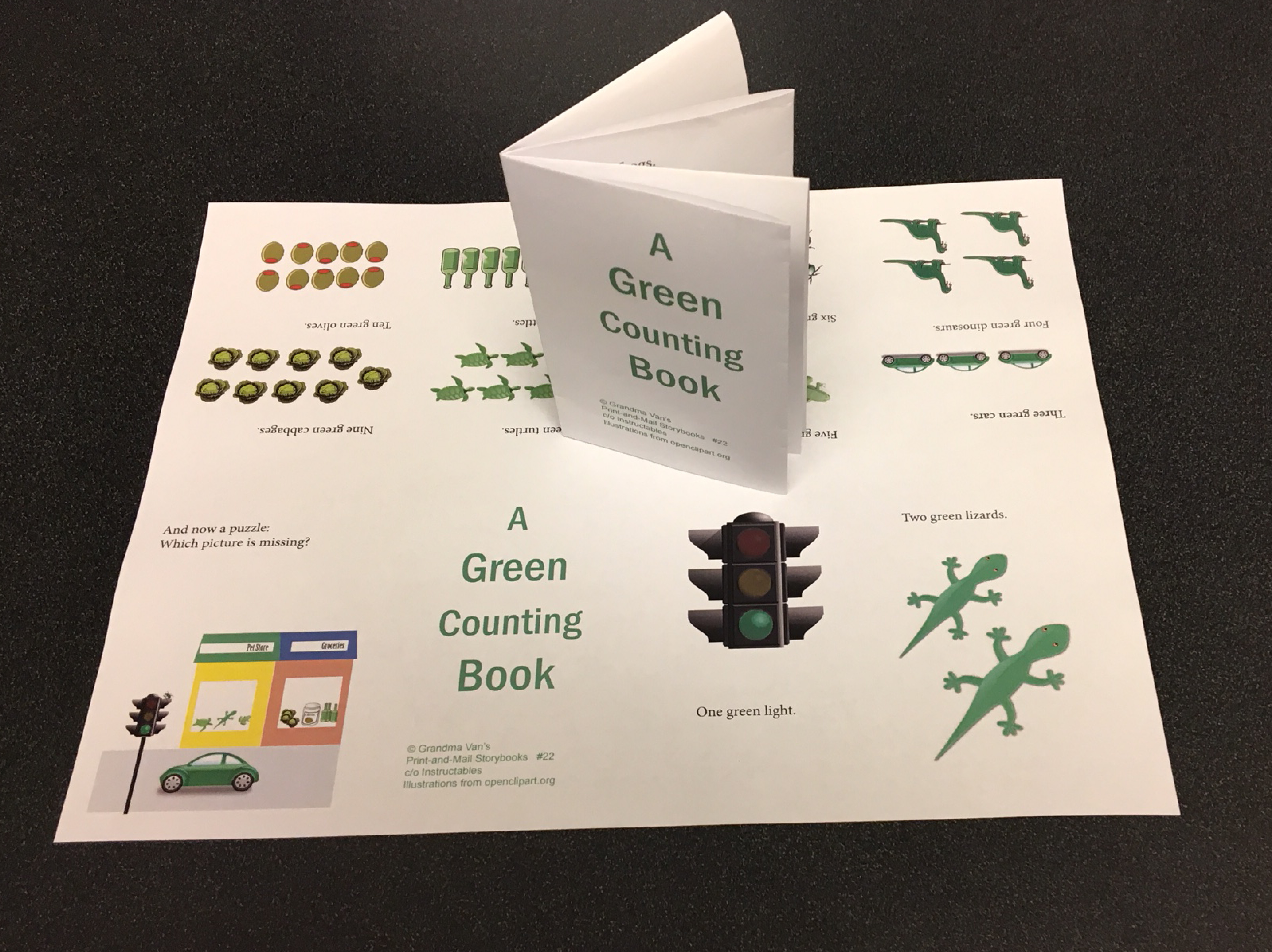 Picture of A Green Counting Book (#22)
