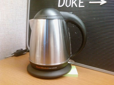 Prop Up Electric Kettle