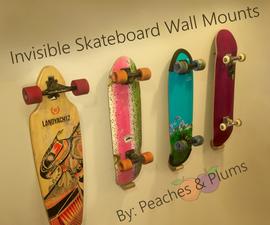 Magnetic Skateboard Wall Holder