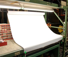 Easy Workbench Photo Backdrop