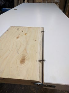Shaping and Hinge Installation