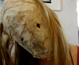 Burlap face mask (Leatherface/Silent hill Nurse/Scarecrow)