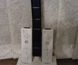 Solar Wiimote charger