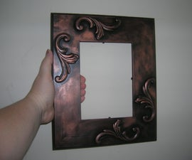 Antique-looking picture frame