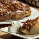 Pear and Walnut Tartin