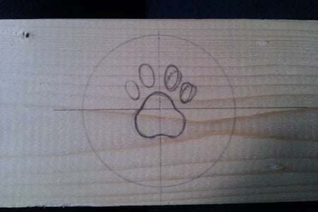 Carving the Paw