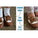 Life Hack: No-Show Socks (No Sew!)