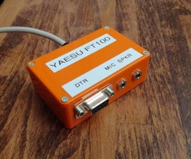 Yaesu FT-100 PC Link Interface for Digital Modes