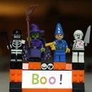 LED Backlight LEGO Boo! Night Light