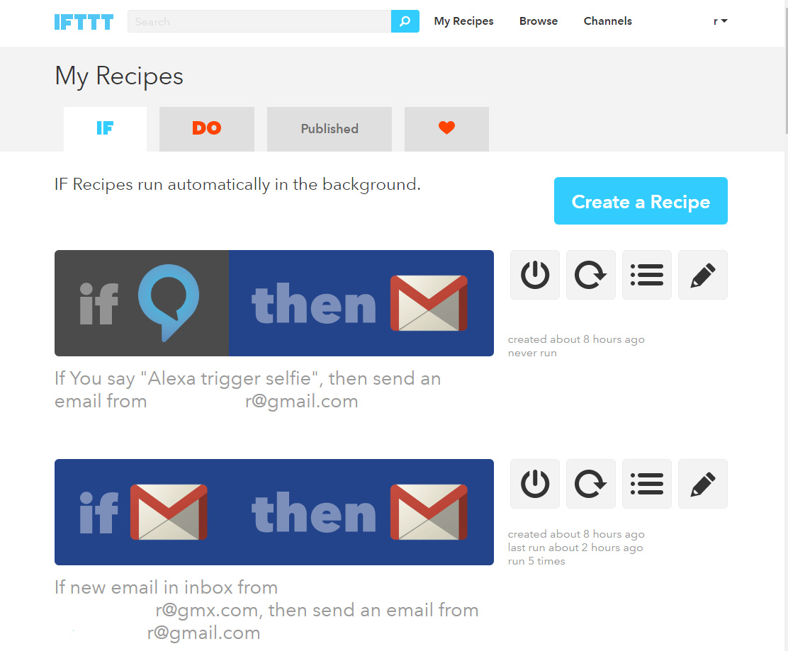 Picture of What's Cookin' Doc? IFTTT Recipes!