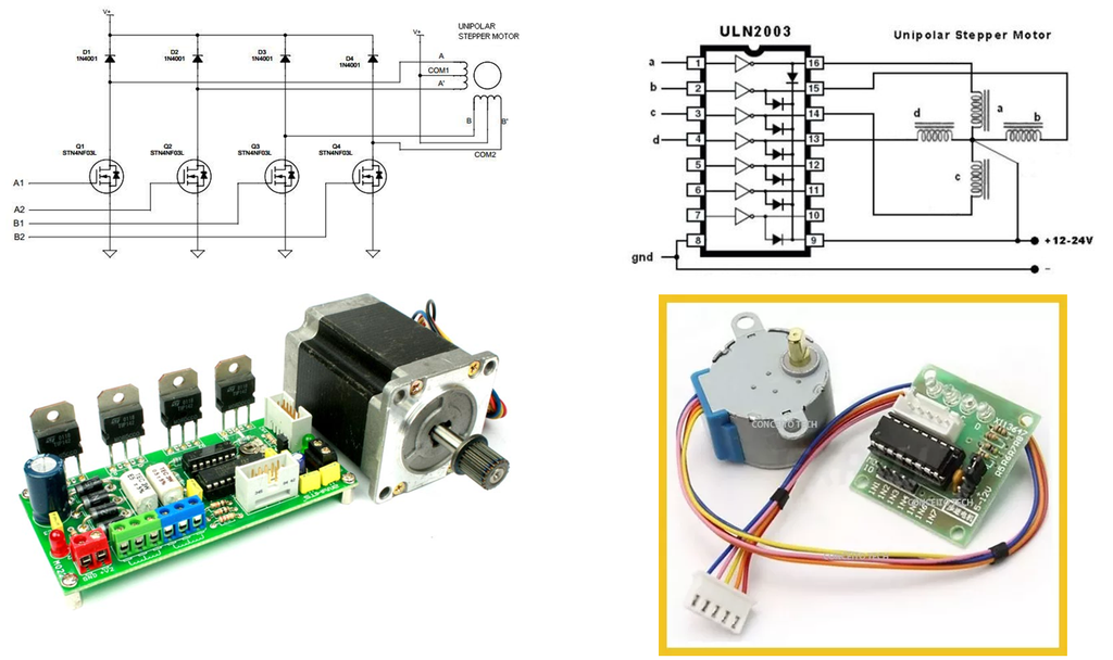 4 5 6 And 8 Wire Stepper Motors 9 Steps Instructables