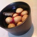 Flavored Boiled Quail's Egg