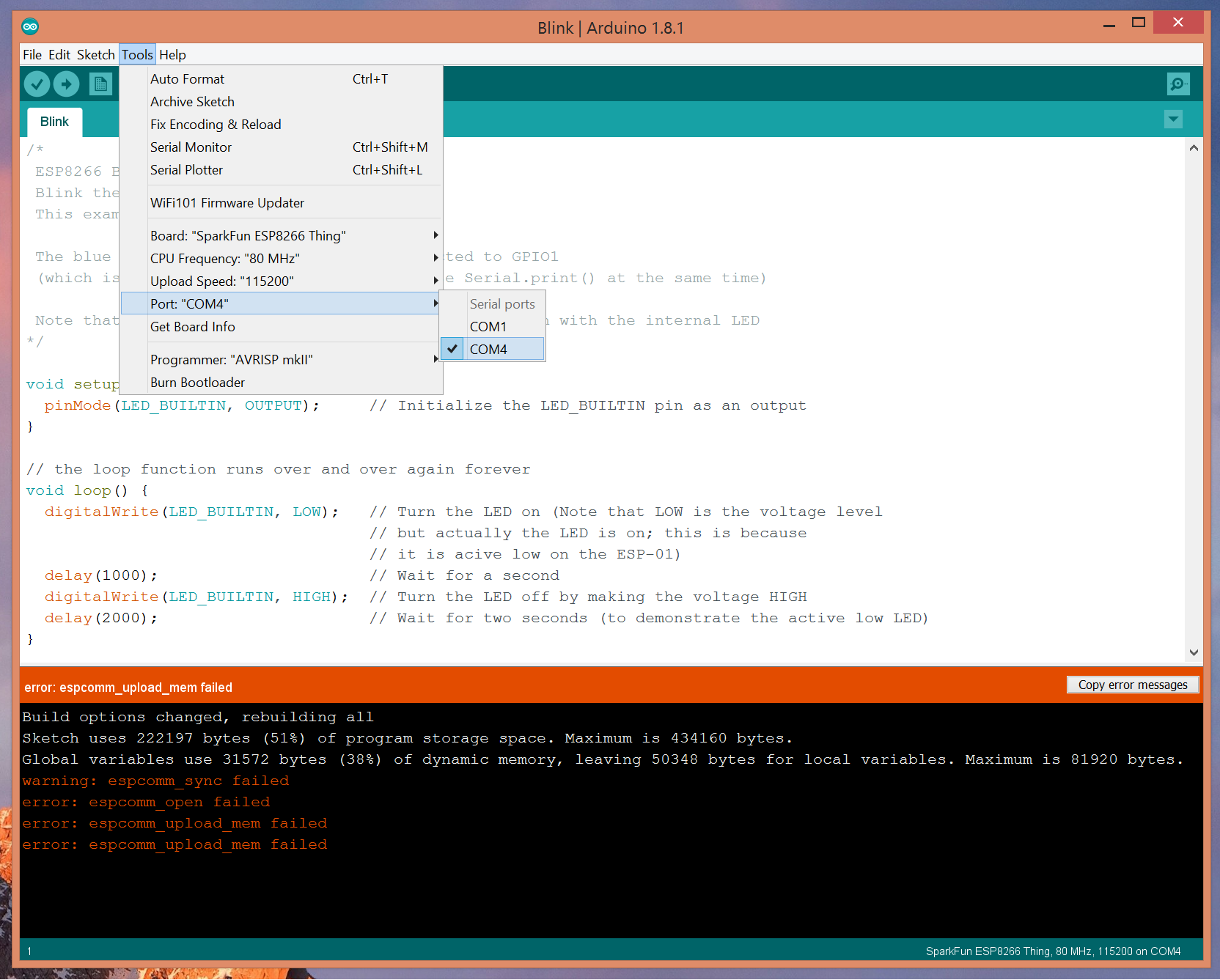 Picture of Arduino IDE Setup