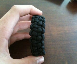 how to make a tire tracks paracord bracelet