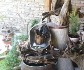 How to Make an Amazing Garden Landscape With a Decorative Waterfall