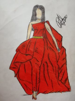 How To Draw The Best Design Of A Dress 5 Steps Instructables