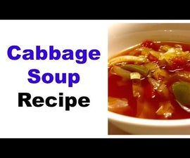 Cabbage Soup - Can Be Used for Cabbage Soup Diet