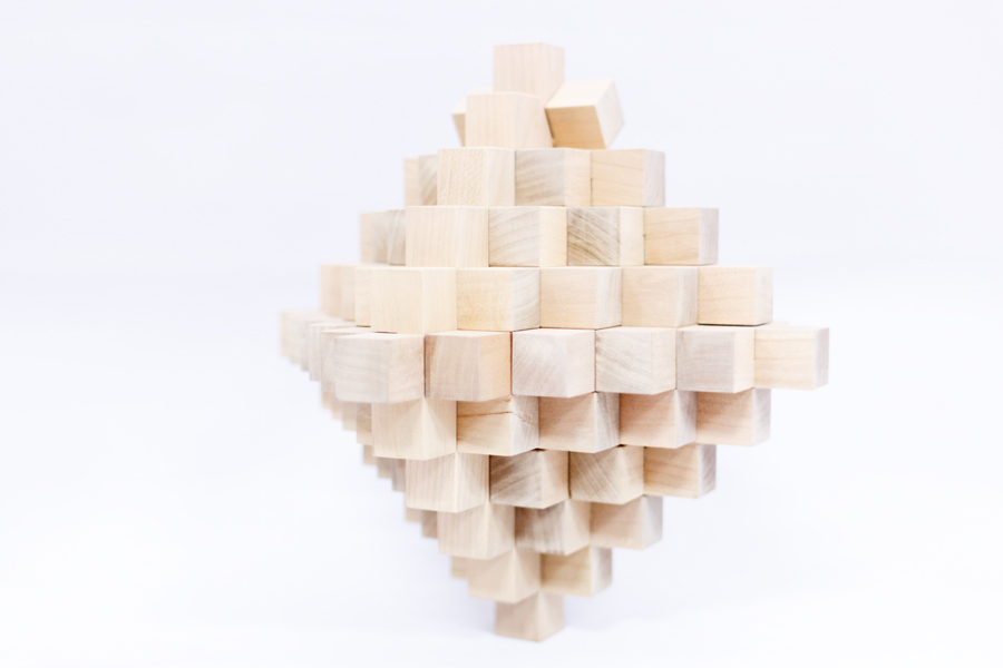 Picture of How to Make a 51 Piece Burr Puzzle Using Only Hand Tools